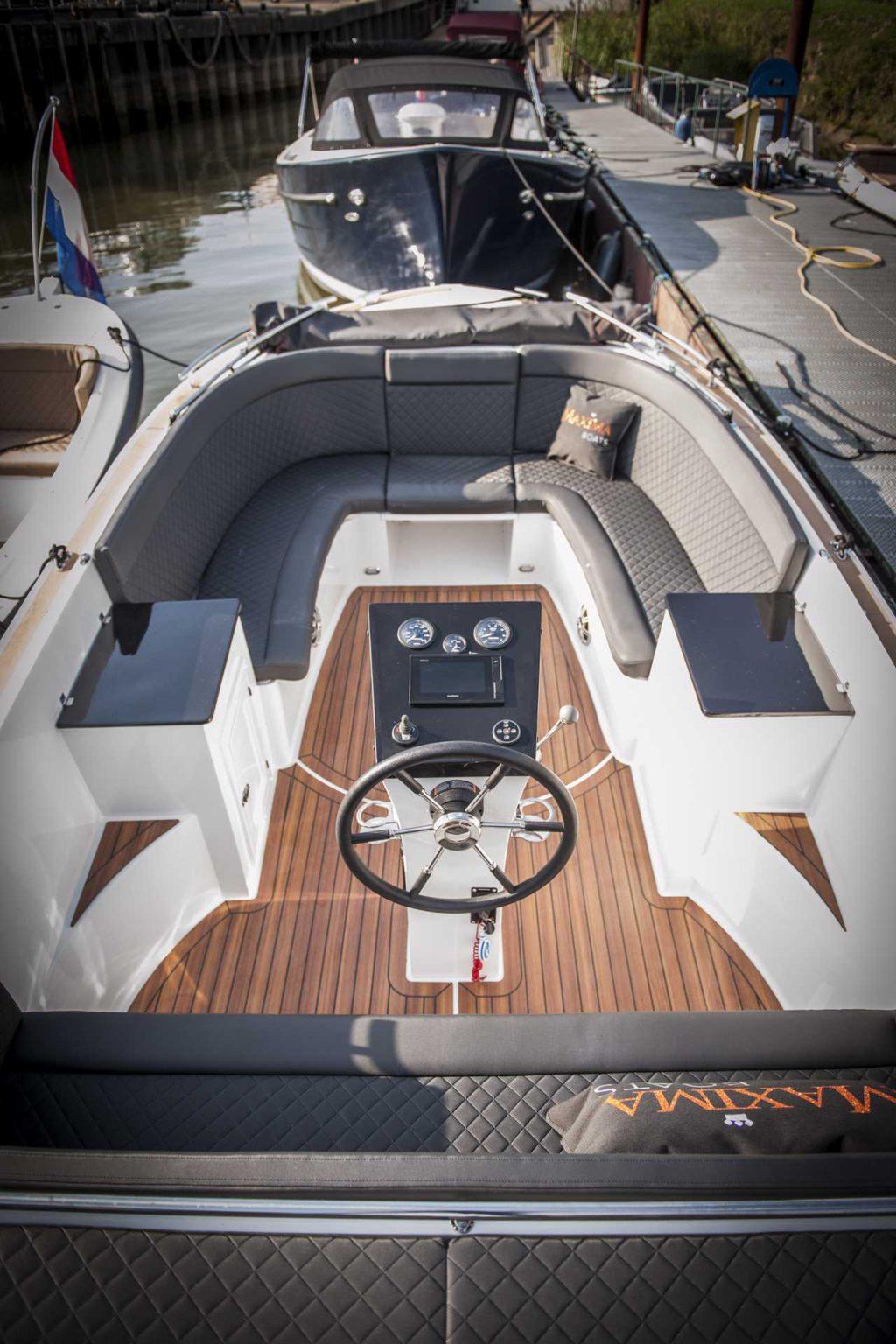 Fonkelnieuw Maxima 730 Tender | Stijlvol op het water | Van Dijk Watersport GV-12