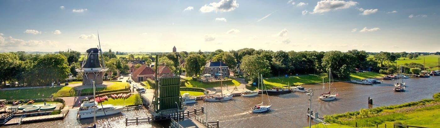 Vaarroute Van Groningen Naar Lauwersoog Interactieve Kaart